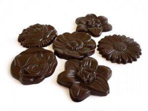 σοκολατάκια μαργαρίτα μαυρη