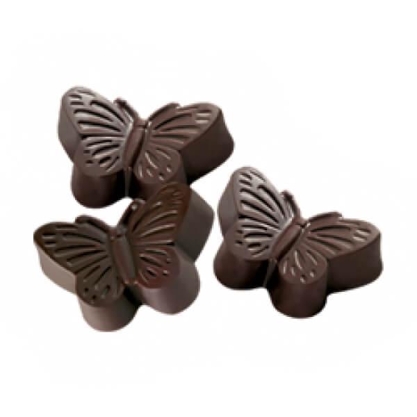 σοκολατάκι πεταλούδα στεβια μικρη